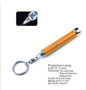 Llave de luz del proyector de aluminio para regalo