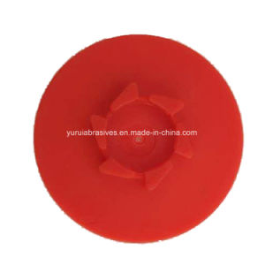 Botão de plástico de resina grossista da tampa da base de disco para polimento de Mudança Rápida Ferramenta abrasivos