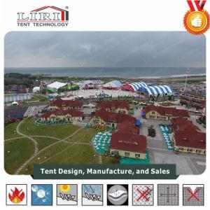3000 Tent van de Veelhoek van mensen de Grote met Druk voor het Festival van het Bier