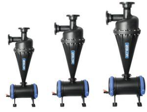 Filtro de areia do filtro centrífugo de 4 do sistema de irrigação gota