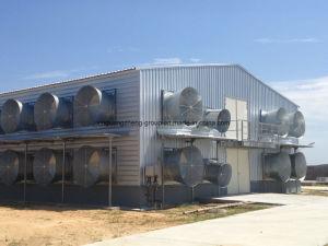 鉄骨構造の鶏の肉焼き器家及び装置システム
