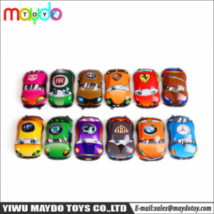 Het kleine Plastic MiniSpeelgoed van de Prijzen van de Giften van de Vuller van het Suikergoed van de Jonge geitjes van het Speelgoed van de Auto van de Trekkracht Achter