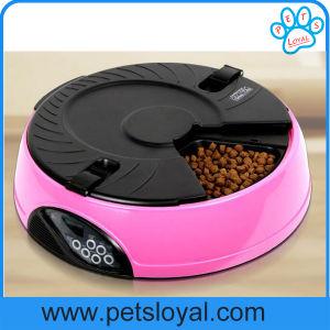 L'animale domestico dell'OEM del fornitore fornisce l'alimentatore automatico del cane di animale domestico dei 6 pasti