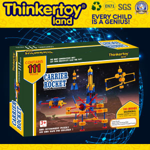 Modèle de Jeu de moulin à vent de l'éducation jouet en plastique des blocs de construction en plastique