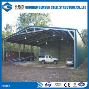 Estructura de acero prefabricada Godown la capacidad de almacenamiento Industrial