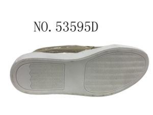 Feuillet de couleur or sur Lady chaussures outdoor Fashion 36-41#