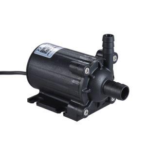 Flow 450l/h DC 12V au milieu de la pression des pompes submersibles amphibie de l'eau