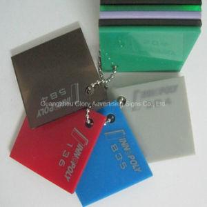 De plastic Acryl AcrylRaad van het Blad voor Reclame en Teken