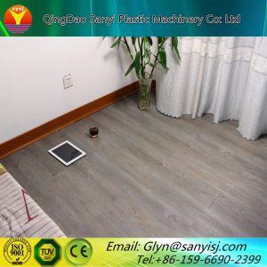 プラスチックPVC木製のビニールの板の床シートのタイルのDeckingの押出機の機械装置
