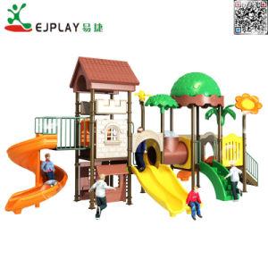 Good Design filhos desliza parque infantil exterior de plástico (FP037)