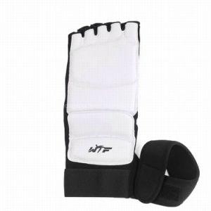 Arte marcial Taekwondo Protector de pie de la Guardia de pie