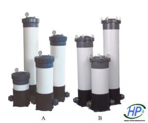 UPVC Logement du filtre à cartouche pour RO du matériel de traitement de l'eau