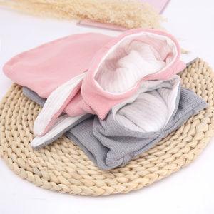 Chat Chien Vêtements costume gris lapin lapin animaux tissu Costume de vêtements en molleton de coton