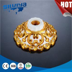 Shell ABS plena de la base de Conductor de cobre de portalámparas