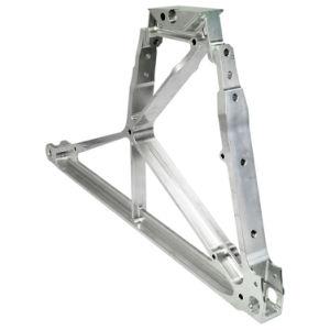 OEM, pieza de aluminio mecanizado aeroespacial parte