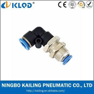 Pl14-04 de Material Plástico Conector Neumático codo macho Pl14-04