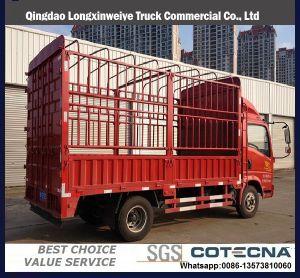 3-5軽トラックのSinotruk HOWOの軽い貨物トラックトンの
