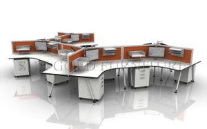 La moderna estación de trabajo varían de 120 grados Modular Escritorio Call Center (SZ-WS548)