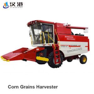 Les outils agricoles automotrices moissonneuse-batteuse de maïs