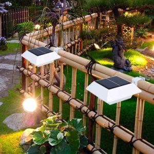 El LED brillante de la Energía Solar jardín impermeable al aire libre de pared Lámparas de luz de la calle