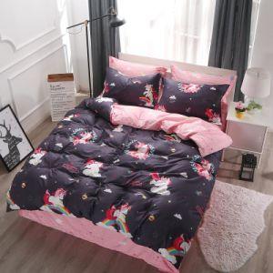 Qualität guter Preis gedruckte Microfiber Polyester-Bettwäsche