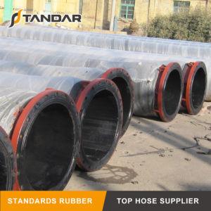 Grande tubo flessibile marino di gomma idraulico industriale della draga di aspirazione
