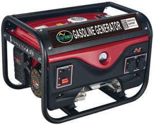 2kw Startforced Air-Cooled eléctrico Generador Gasolina arranque eléctrico