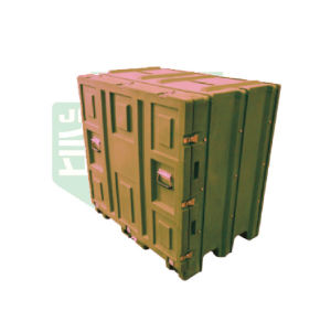 Moldeo rotacional Carga pesada palet listo Mobile Master la maleta de transporte almacenamiento Hlc-112.80.121