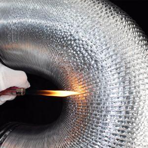 Folha de alumínio de PVC flexível de alumínio/gases /Sistema HAVC ventilação