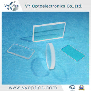 Optisches Windows mit dem Loch auf der Oberfläche