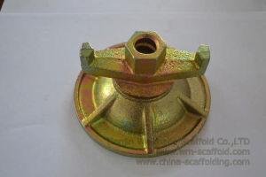 Le coffrage de béton attache de la rondelle de butée de l'écrou de l'écrou papillon