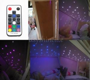 DIY оптического волокна света звезд потолочный светильник для детской лучшим подарком для ребенка Car звезд потолочный светильник + Пульт ДУ