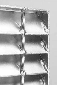 الصلب المشبك مع مختلف المعالجة السطحية