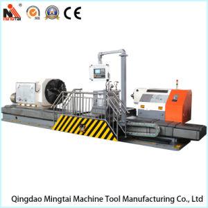 China torno horizontal de profesionales para girar el cilindro, el carbón, el tubo de electrodos de grafito, rodillo, el eje (CG61300)