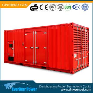 Elektrischer leiser schalldichter 800kw 1000kVA Diesel-Generator Cummins- Engine