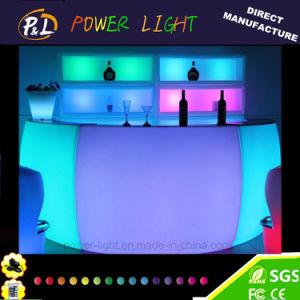 Contatore illuminato d'ardore della barra di Rechageable LED