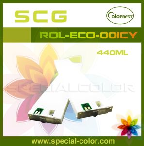 440ml Eco-Solvent Printer inktcartridge met Spaander voor Mimaki JV5