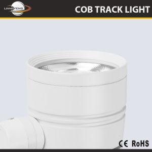 GEHÄUSE-Strahlungswinkel justierbare LED Tracklight China-Ce&TUV Aluminium
