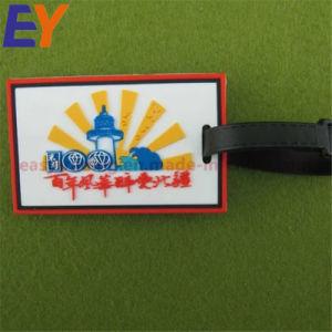 Kundenspezifische Belüftung-Gepäck-Aufhängungs-Marken-Arbeitsweg-zusätzliche Namensmarke mit Metallbrücke