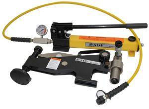 Outil d'alignement de bride hydraulique avec pompe hydraulique