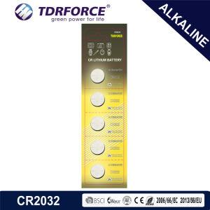 батарея лития клетки кнопки 3V Cr1632 Non-Rechargeable с Ce для игрушки