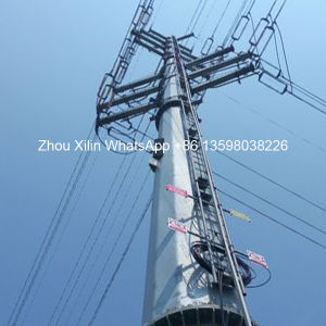 高品質によって電流を通される電力配分タワー