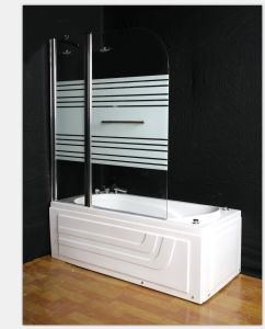 140*120 ajustable con apoyo de Bar en el último cuarto de baño ducha pantalla Gabinete