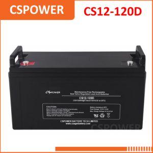 12V120ah герметичный свинцово-кислотный аккумулятор на заводе производителя в Китае CS12-120D