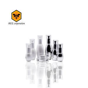 En forma de bolos Loción Plástica Cosmética botella (BT-P-80)
