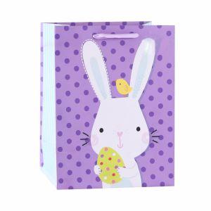 Пасхальный заяц чашки праздник подарков бумажные мешки