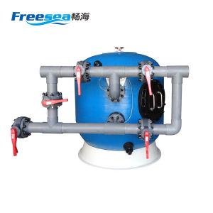 Filtre de sable de fibre de verre avec le système de filtration de pompe pour la piscine