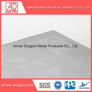 Cor cinzento alumínio alveolado painéis para decoração de exposições