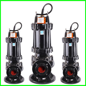 Versenkbare Abwasser-Pumpe des Wassers nicht einfach zu tragen