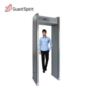 ボディスキャンナーのための安全装置の戸枠の金属探知器